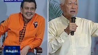 Saksi: Iringan nina Estrada at Lim, nabuhay dahil sa isyu ng pagpapatayo ng Torre De Manila