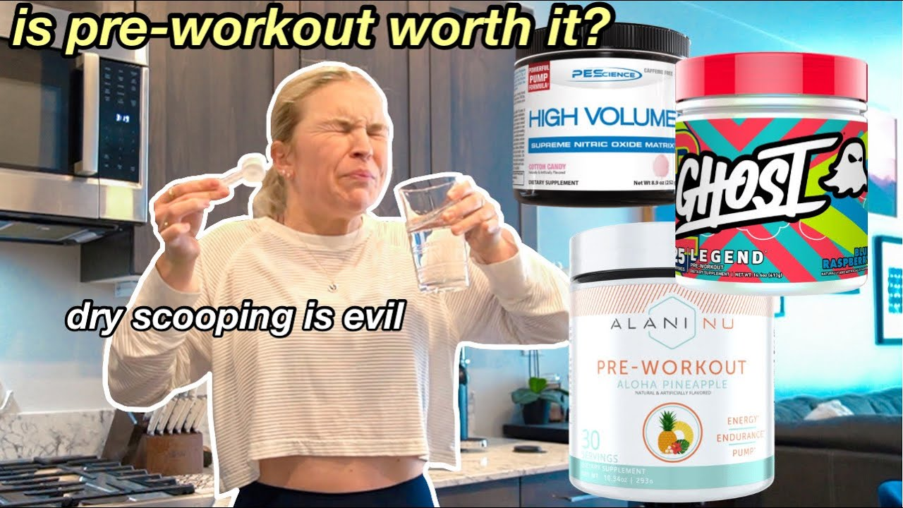 TESTING POPULAR PRE-WORKOUT BRANDS *trying to find the BEST PRE-WORKOUT* yeehaw