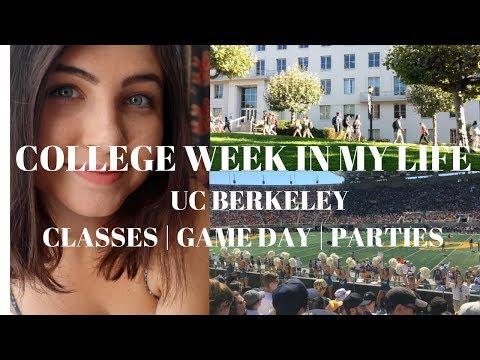 A Week In My College Life | UC Berkeley