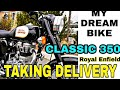 2017 ROYAL ENFIELD CLASSIC 350 || TAKING DELIVERY | JSN MOTORS, SURAT