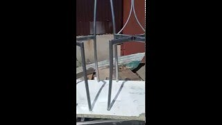 Производство стульев на металлическом каркасе. Металлик-искра VS Хром эффект(, 2016-04-24T10:32:59.000Z)