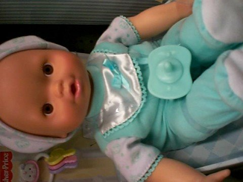 Doll saying 'Islam is the light'