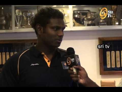 Anjelo Mathews - Sri TV Interview with Isuru Madanayaka