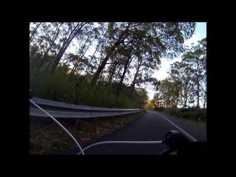 Cycling Mt Cootha