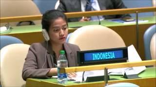 GOKIL!!! Pimpinan sidang PBB ini diam seribu bahasa melihat Nara Masista Rakhmatia di KTT 71 PBB