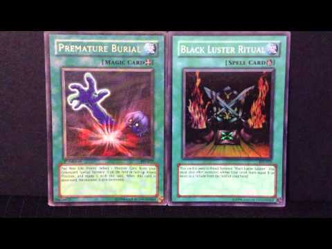 Yu-Gi-Oh - Premature Burial Vs Black Luster Ritual