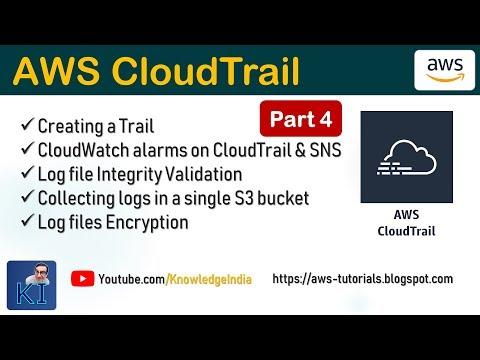 AWS CloudTrail - Part 4 - DEMO | CloudTrail Logs from