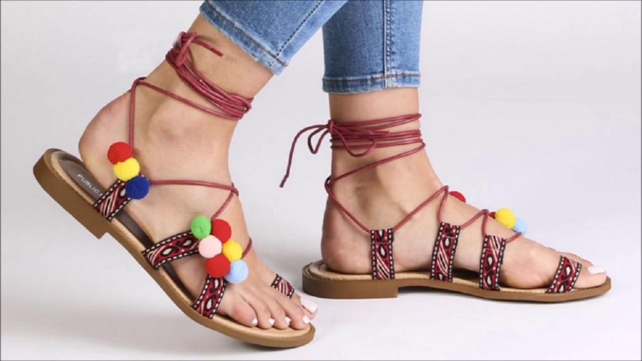 464704decf10fd Latest summer shoes trends 2017 For women   Girls Indian   Pakistani ...