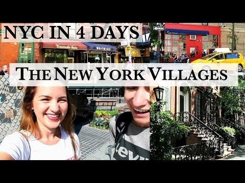 THE NEW YORK VILLAGES I NYC in 4 Days Vlog I ANNI LALAS