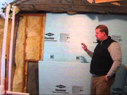 basement insulation youtube