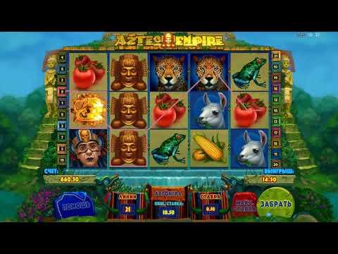 Игровой автомат Aztec Empire играть бесплатно и без регистрации онлайн