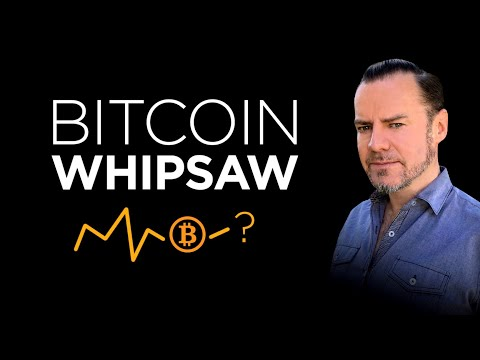 LIVE: The Bitcoin Whipsaw – and how to play it!