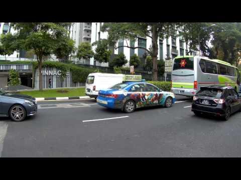 Singapore, Outram Park, walking around | SJCAM SJ5000X Elite