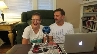 We Have A Podcast Now & Unboxing A Blue Snowball With Mic Test!!!