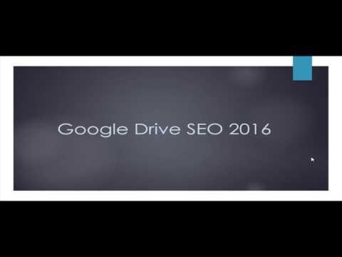 Introduction to Google Drive SEO Secrets Course