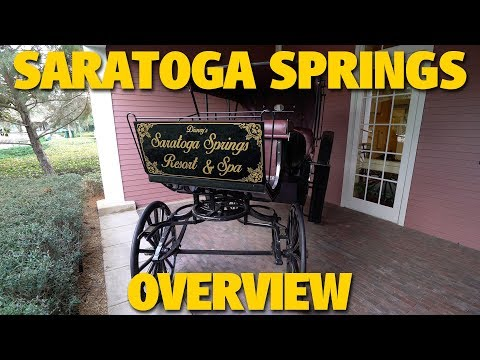 Disney's Saratoga Springs Resort Overview | Walt Disney World