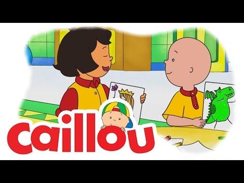 Caillou - Sarah's Kite  (S05E13) | Cartoon for Kids