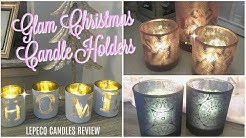 LEPECQ CANDLE HOLDERS REVIEW// CHRISTMAS GIFT IDEAS //CHRISTMAS DECOR