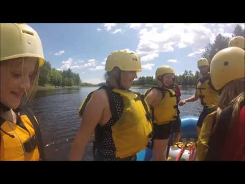 Ottawa  Family Rafting, July 2016