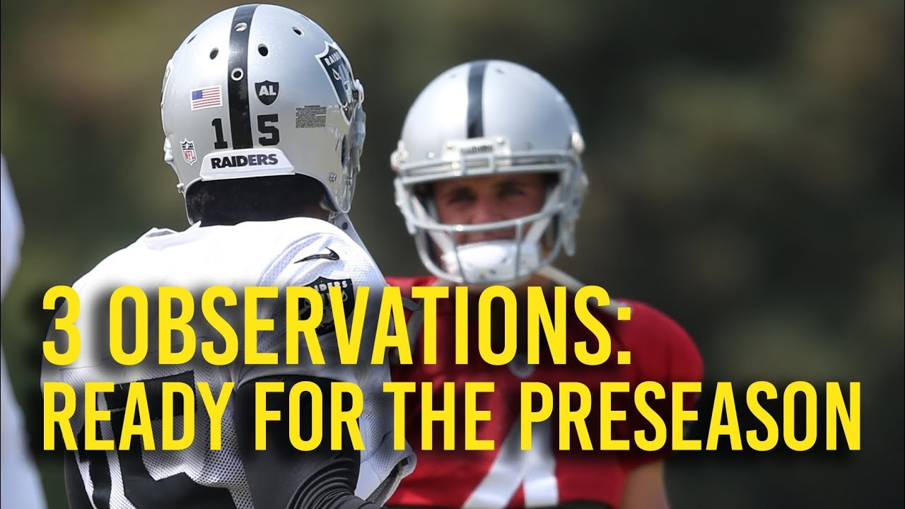 Six observations from the Oakland Raiders' win over the Arizona Cardinals
