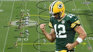 Film Study: Aaron Rodgers had a monster day against Oakland