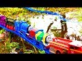 Thomas And Friends Trains Toy Accidents Will Happen Funny Outdoor Rainy Day
