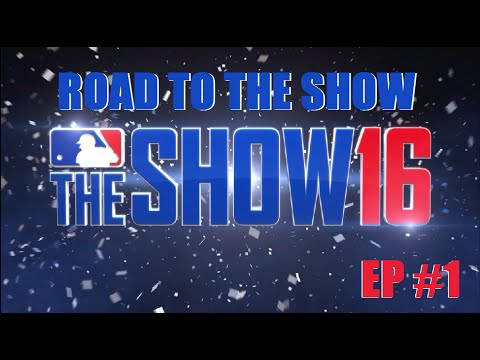 MLB 16 The Show Road To The Show Ep 1 Shortstop