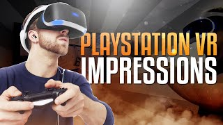 Playstation VR Impressions! (Call of Duty: Black Ops 3 Gameplay Commentary)