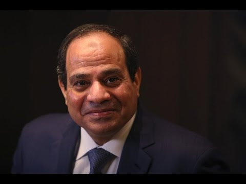 We Are Trying to Regain Rule of Law: Egypt's El-Sisi