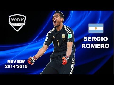 SERGIO ROMERO | Sampdoria | Best Saves | 2014/2015  (HD)