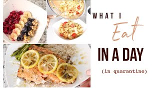 Baixar What I Eat In A Day   Quarantine Breakfast, Lunch & Dinner