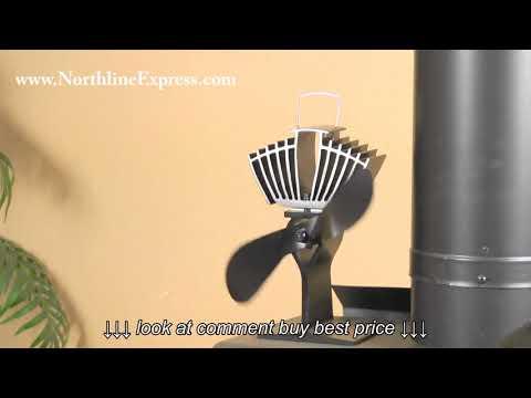 EcoFan AirMax Heat Powered Wood Stove Fan
