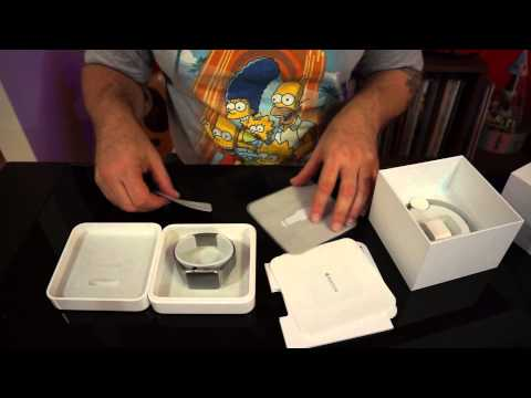 Unboxing Apple Watch Stainless Steel link band