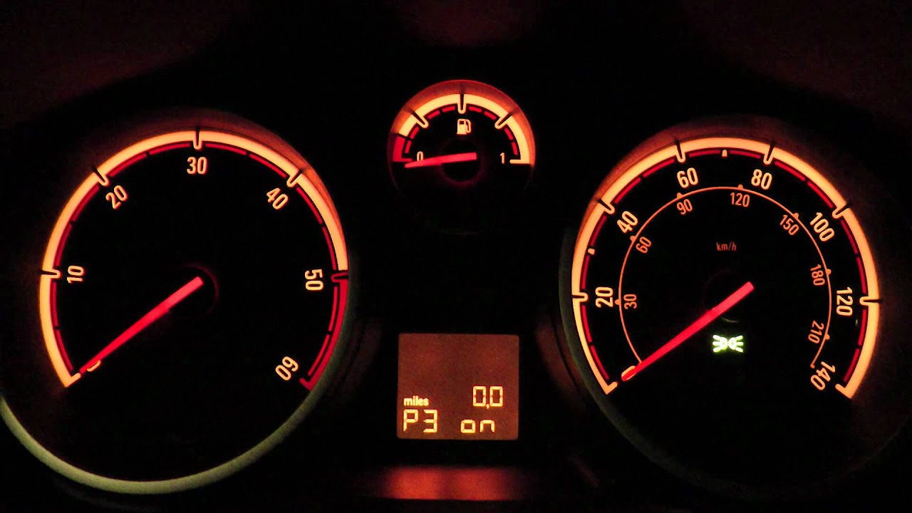 Vauxhall Opel Corsa D Hidden Personal Options Turn Off