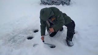 Зимняя Рыбалка в Петропавловске, Казахстан  2018 год