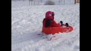 Toddler Sled - Toddler Sledding Oak Hill