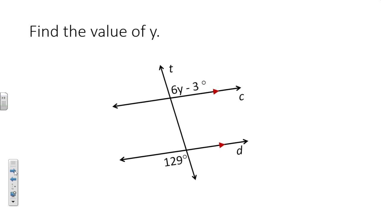 worksheet. Parallel Lines Cut By A Transversal Worksheet ...