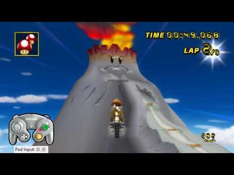 [MKW TAS] GCN DK Mountain(Glitch) - 1:53.815