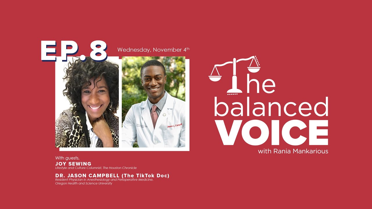 The Balanced Voice Episode 8 | Joy Sewing & Dr. Jason Campbell: Joy for Today, Hope for our Nation