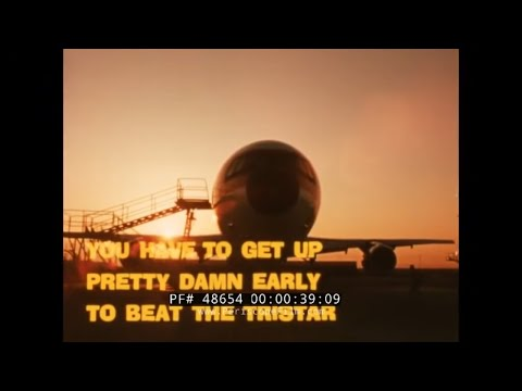 LOCKHEED L-1011 TRISTAR  EASTERN AIRLINES PROMOTIONAL FILM 48654