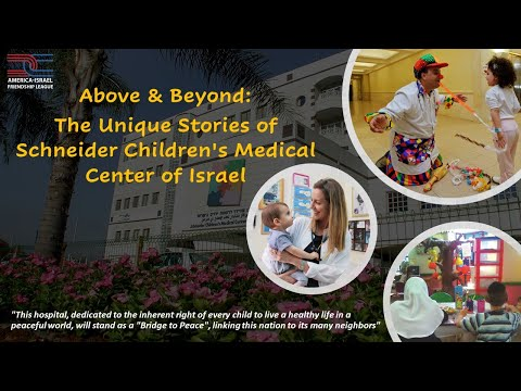 Above \u0026 Beyond: The Unique Stories Of An Israeli Pediatric Hospital