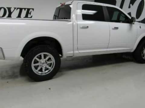 2015 ram 1500 laramie white ecodiesel used truck for sale paris tx youtube. Black Bedroom Furniture Sets. Home Design Ideas