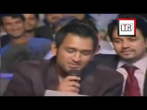 M s Dhoni Singing  Tere mast mast do Nain  on Sachin Tendulkar request with Virat & Yuvraaj   YouTub
