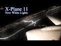 X-Plane 11 Realistic Takeoff Night B737-800 l HD