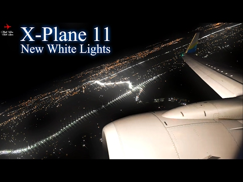 X-Plane 11 Realistic Takeoff Night B737-800 L HD