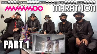 MAMAMOO Reaction [ Marathon ] Part 1