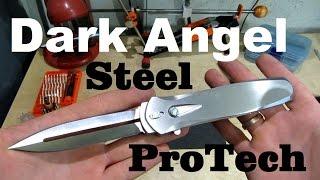 Нож ProTech Dark Angel Steel – ремонт предохранителя.