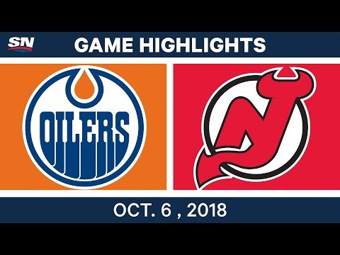 NHL Highlights | Oilers vs. Devils - Oct. 6, 2018