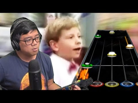 someone hecking charted this for guitar hero