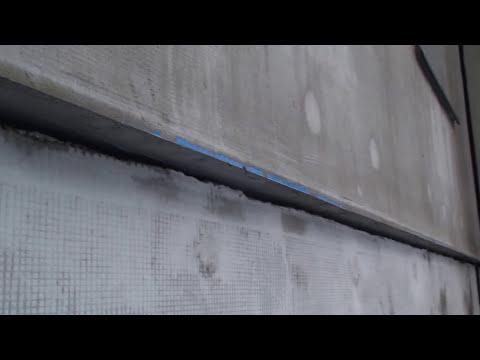 Температурно-усадочные швы, отливы в системе утепления мокрого фасада Ceresit